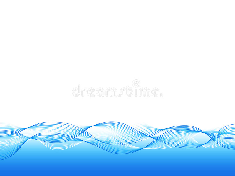 Download Blue wavy background stock vector. Image of creative, lines - 3759737