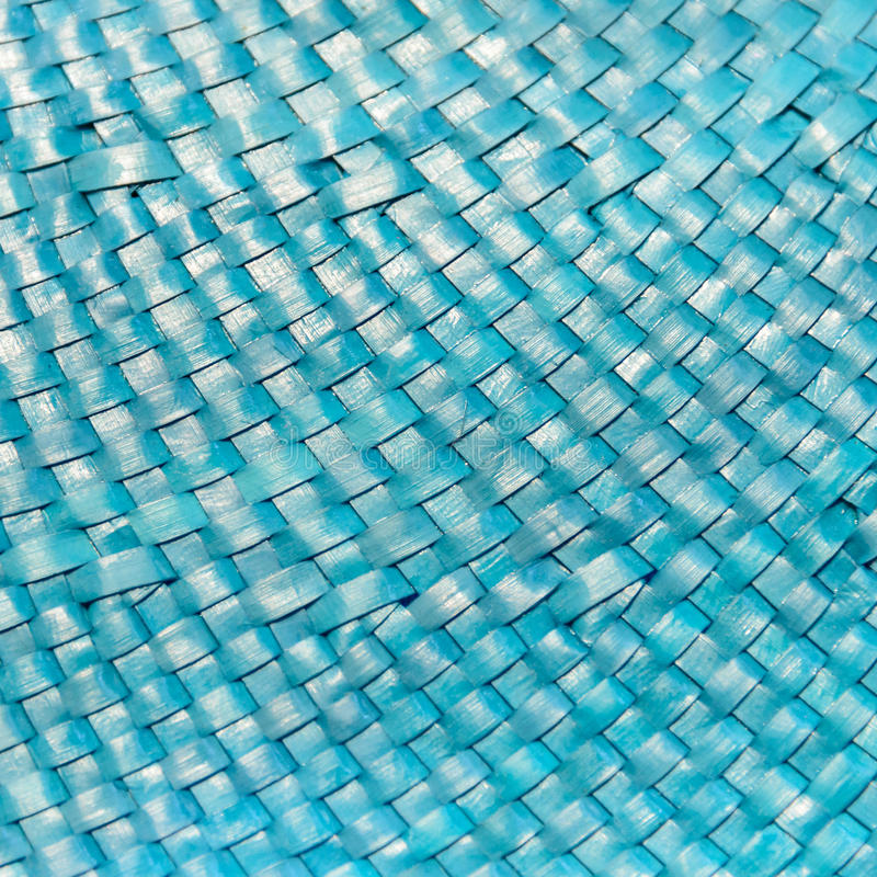 Blue Weave Pattern. From hat royalty free stock image