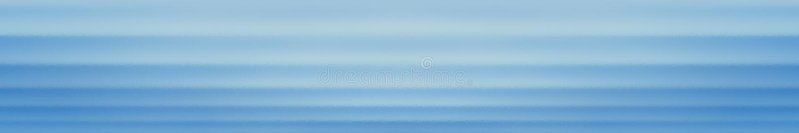 Blue web site header or footer background. Abstract design template stock illustration