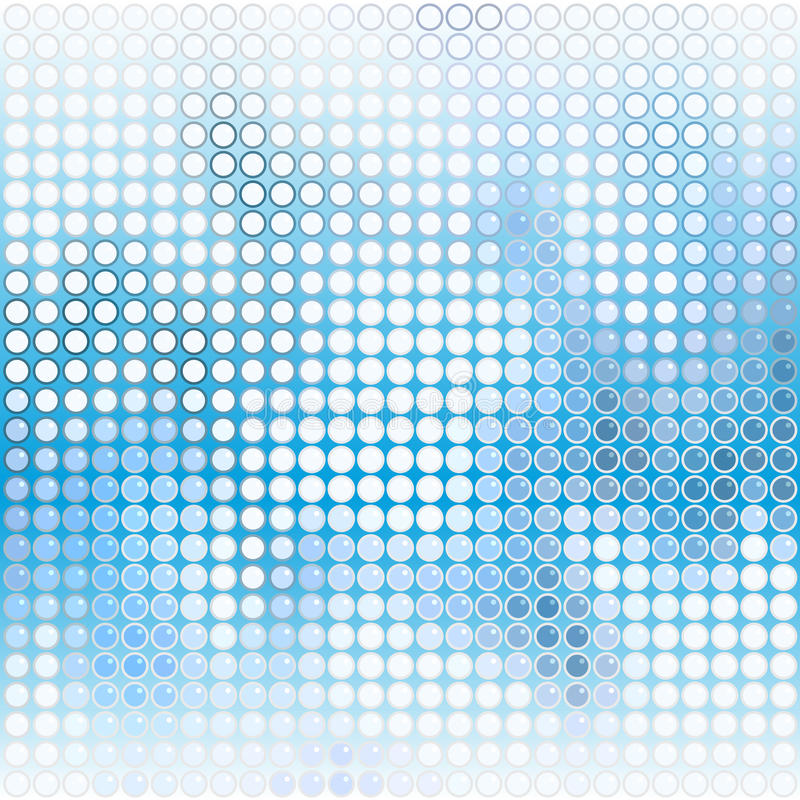 Blue and white vector illustration