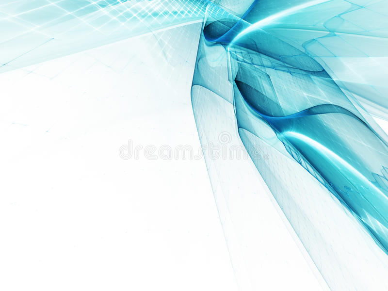 Download Blue On White Abstract Background Stock Illustration - Image: 20046441