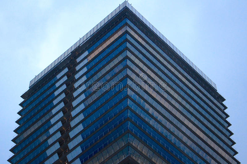 Blue And White Clear Glass Building Free Public Domain Cc0 Image