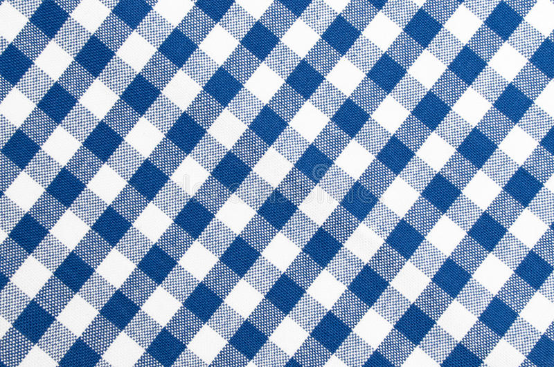 Blue and white cloth pattern