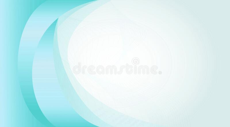 Blue and white colored bending lines professional background, template design 1. Useful for web banner and poster design royalty free illustration