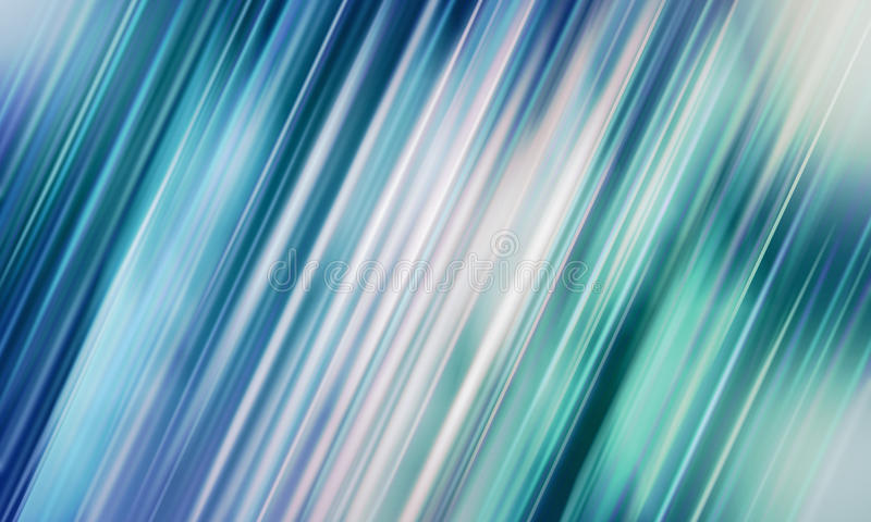 Blue and white digital background. Abstract blue and white blured motion background illustration royalty free illustration