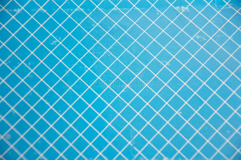 Blue and white grid background stock images