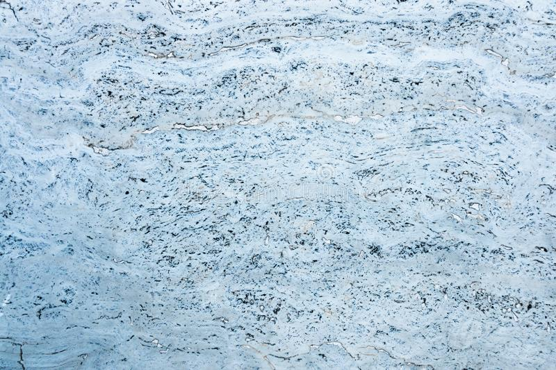 Blue and white marble texture stock images