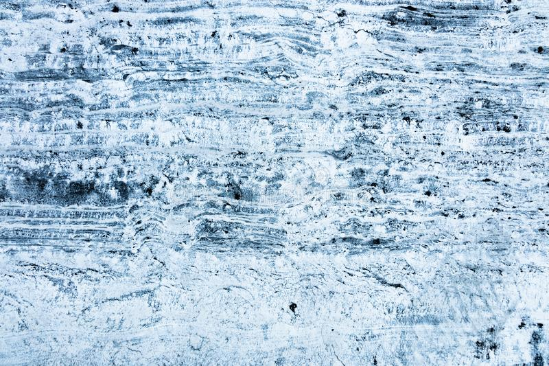 Blue and white marble texture stock photo