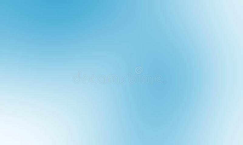 Blue And White Pastel Color Shaded Blur Background Wallpaper