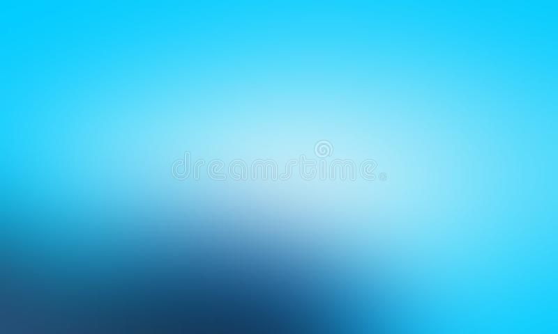 Blue and white pastel colors abstract blur background wallpaper, vector illustration. royalty free illustration