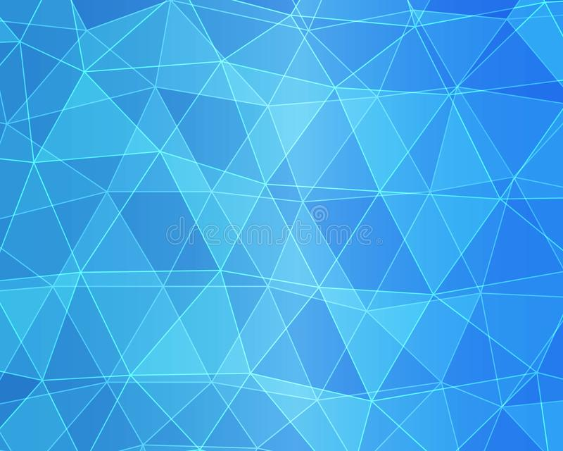 Blue White Polygonal Mosaic Background, Vector illustration, Creative Business Design Templates vector illustration