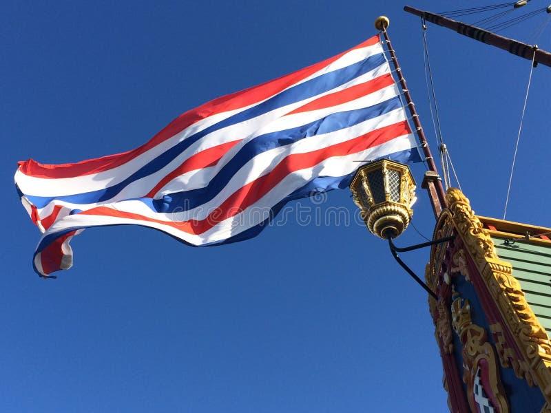 Blue White Red Striped Flag Free Public Domain Cc0 Image