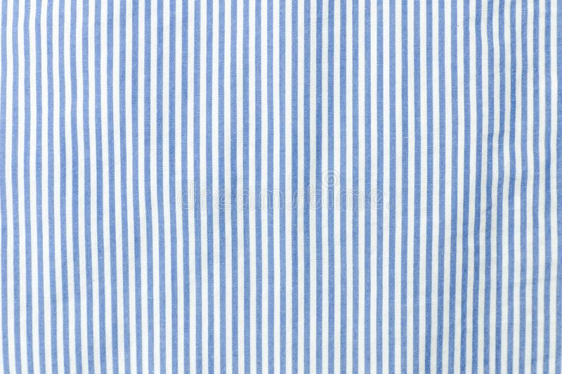 Blue and white striped seamless fabric. Blue and white striped seamless fabric stock photo