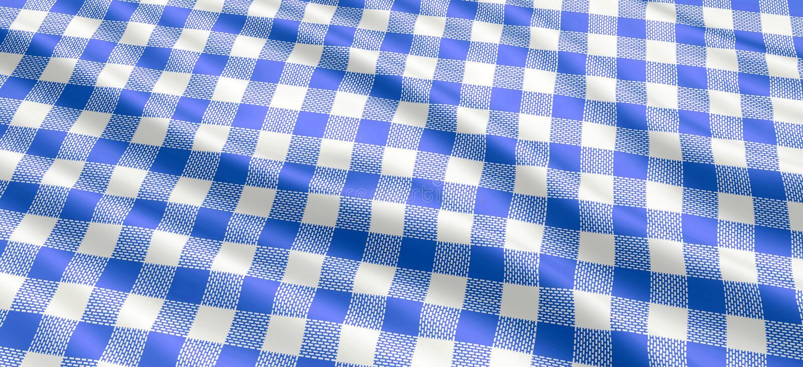 Download Blue and white tablecloth stock photo. Image of fabric - 8209752