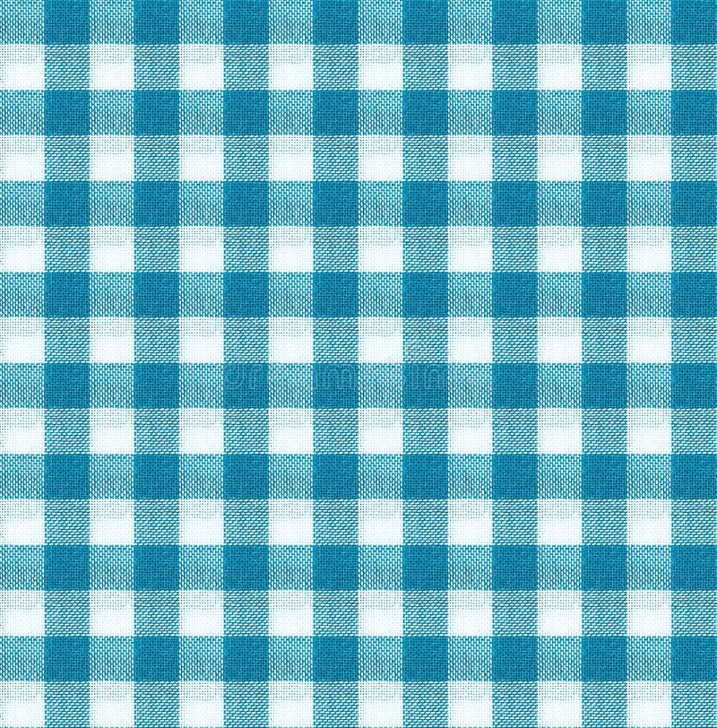 Blue and white tablecloth texture wallpaper royalty free stock images