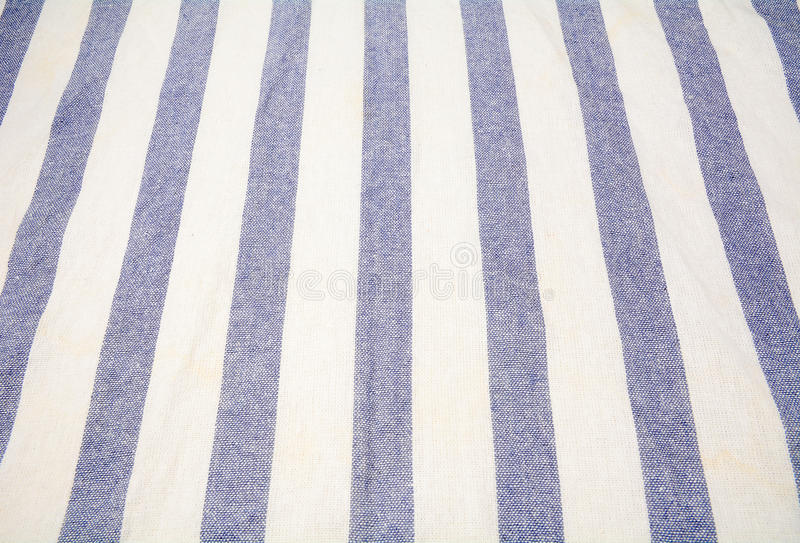 Download Blue And White Vertical Striped Tablecloth Stock Image   Image Of  Fiber, Ornament: