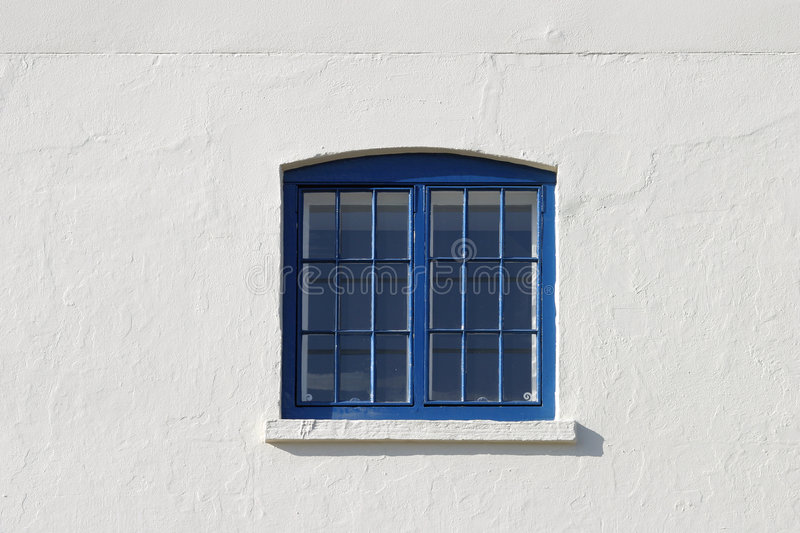 Download The Blue Window stock photo. Image of sill, window, blue - 100934