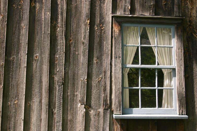 Blue window stock photography