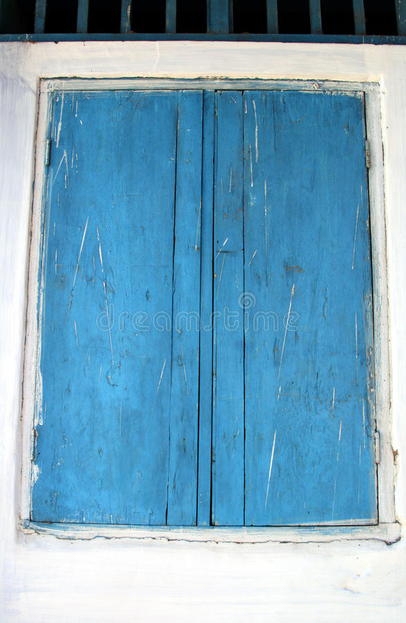 Download Blue window shutters stock image. Image of india, wooden - 11364703