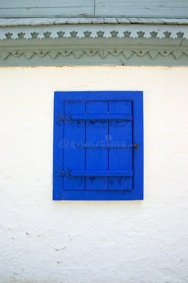 Blue Windowblind Free Stock Image