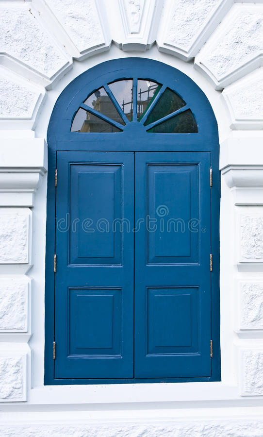 Download Blue windows stock photo. Image of building, south, windows - 22717436