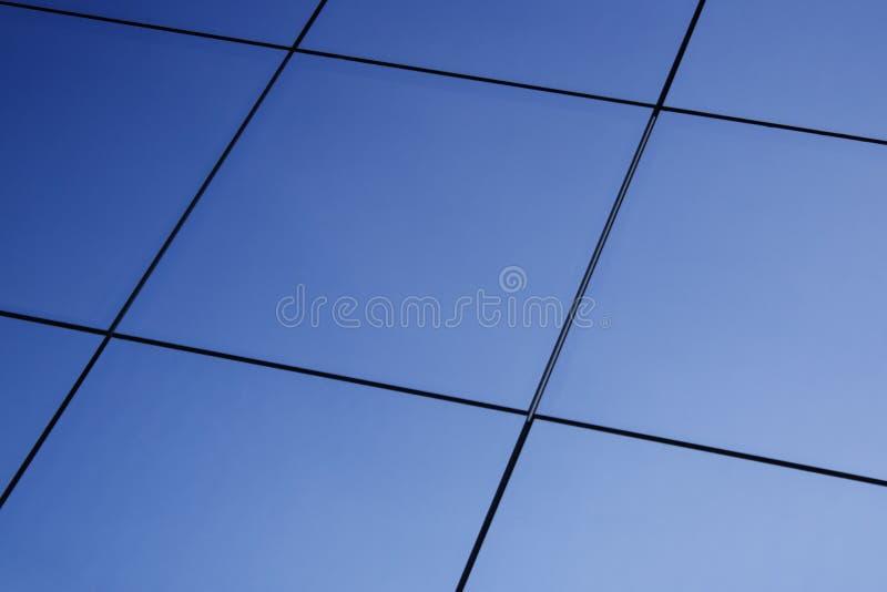 Blue windows background royalty free stock images