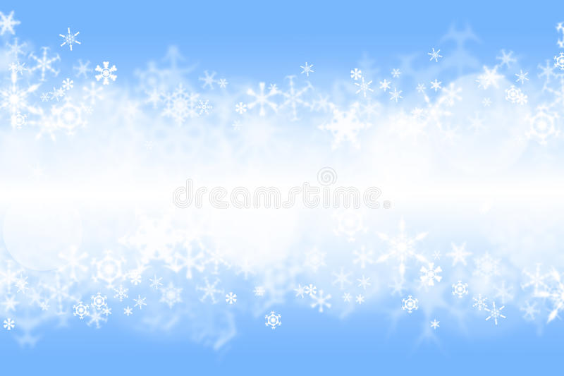 Blue winter wallaper royalty free stock photography