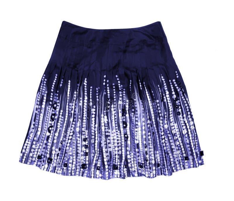 Blue women skirt stock photography