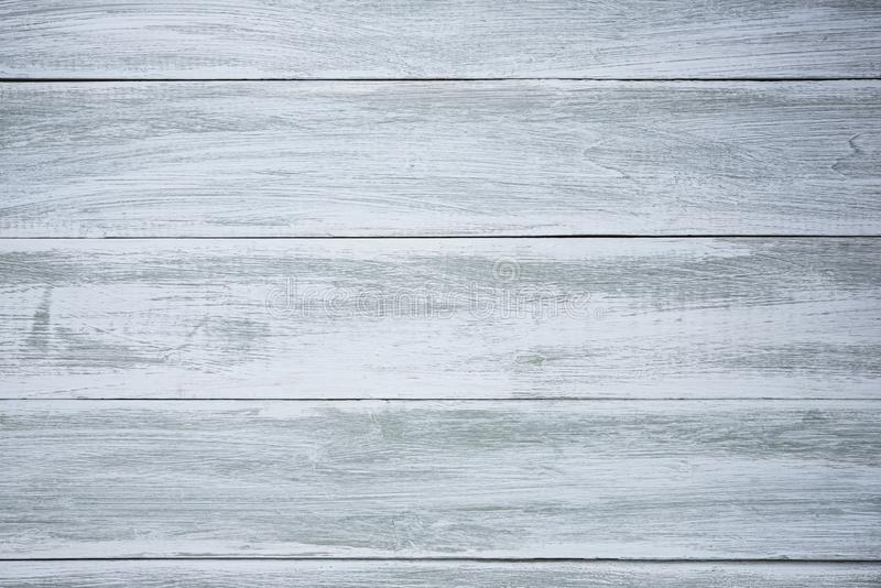 Blue wood background old design empty pure wallpaper. Text stock image