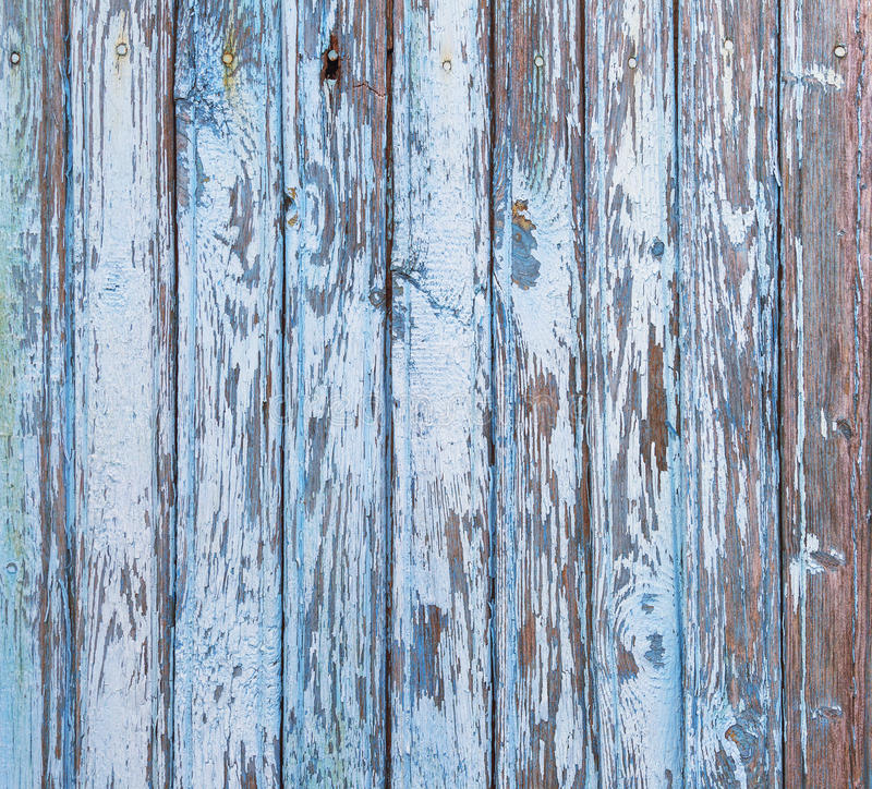 Blue wood background stock images