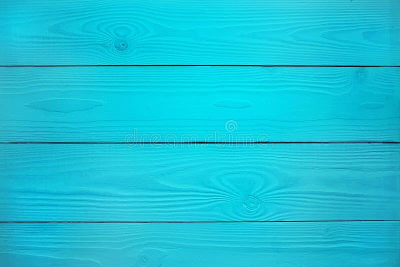 Blue Wood Background stock image