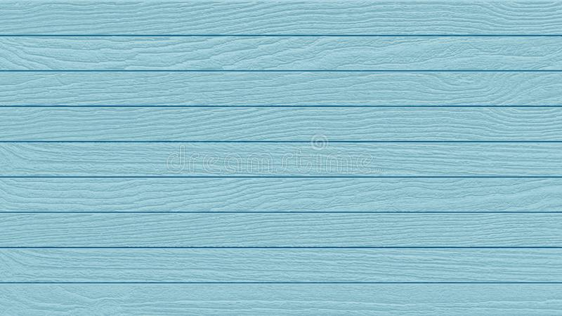 Blue wood planks background texture, vector. Wood planks painted blue background texture, vector illustration royalty free illustration