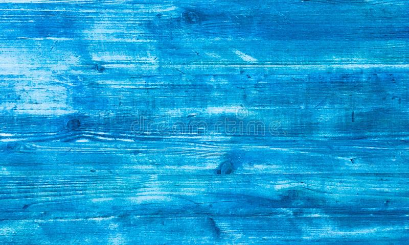 Blue wood texture, light wooden abstract background royalty free stock photo