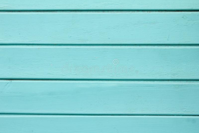 Blue wooden background. Blue faded painted wooden texture, background, wallpaper. royalty free stock photo