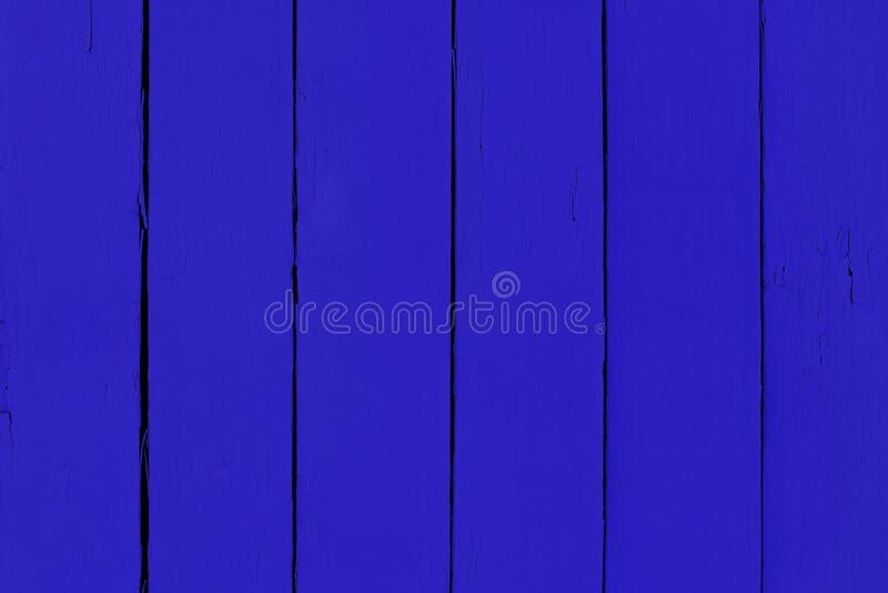 Blue wooden board. Natural surface as a background for design.  stock photo