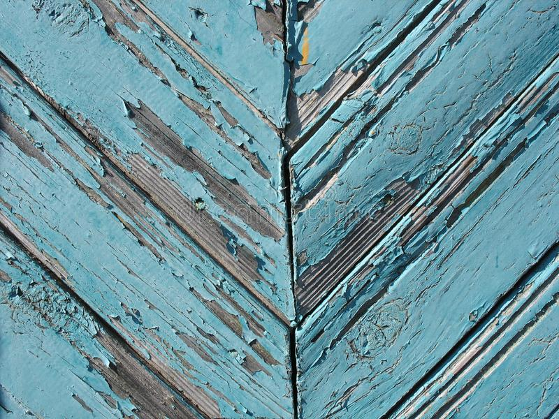 Download Blue wooden fence stock photo. Image of artistic, paint - 15265742