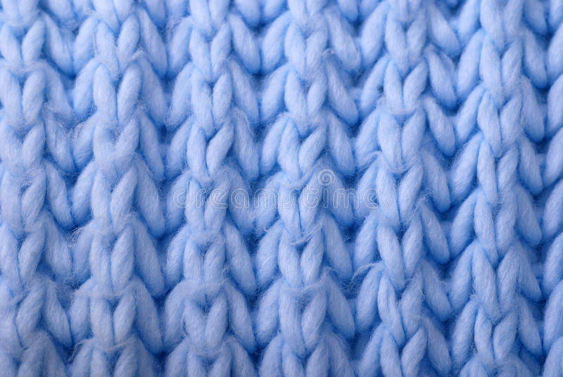 Download Blue Wool Knitted Background Stock Photo - Image of blanket, macro: 22637582