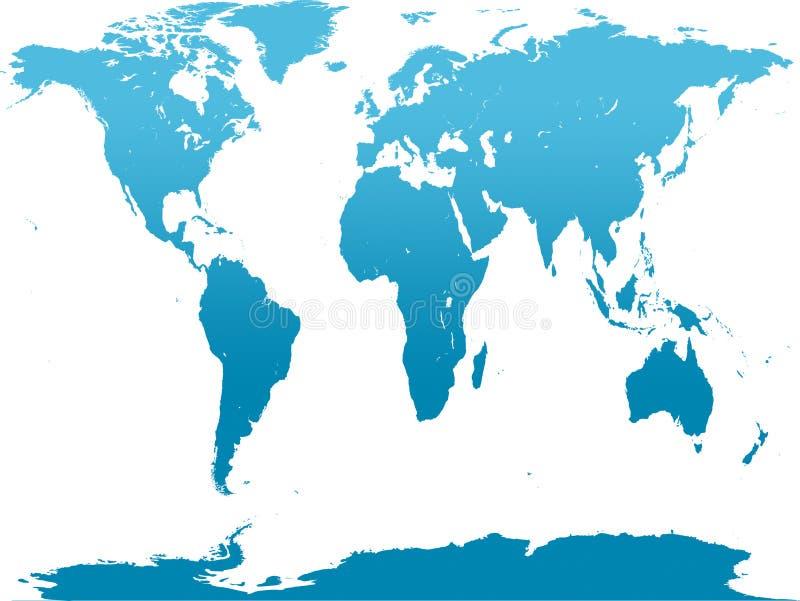 Blue world map stock illustration illustration of antarctica 70436171 download blue world map stock illustration illustration of antarctica 70436171 gumiabroncs Choice Image
