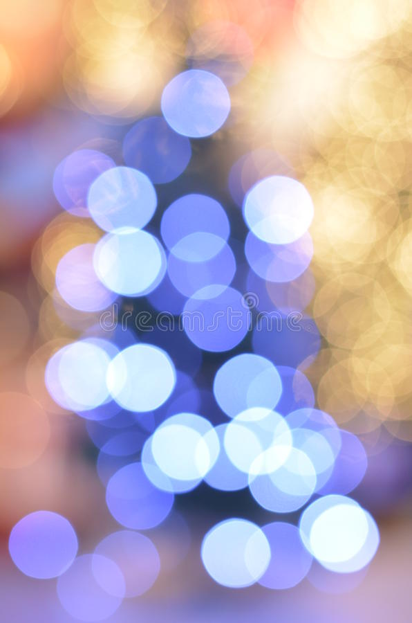 Blue and yellow christmas royalty free stock image