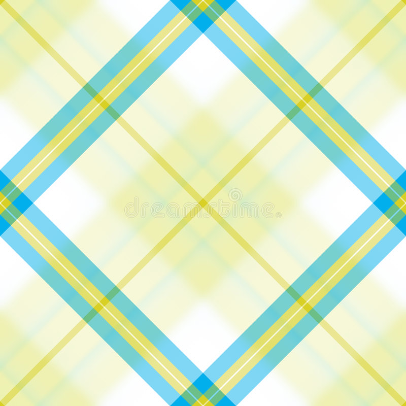 Blue Yellow Diagonal royalty free illustration
