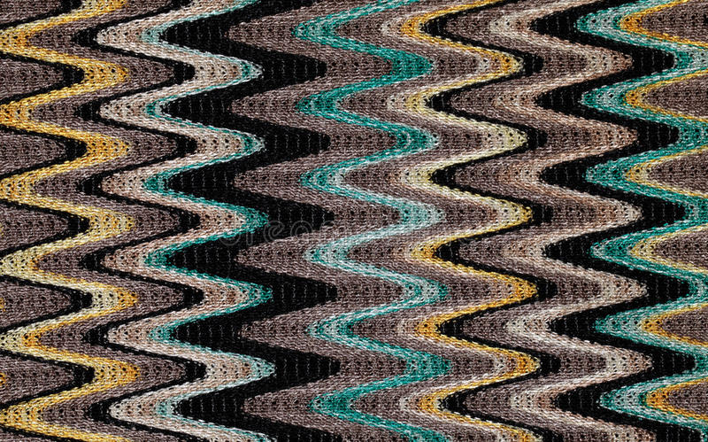 Blue, yellow and grey waves pattern stock photos
