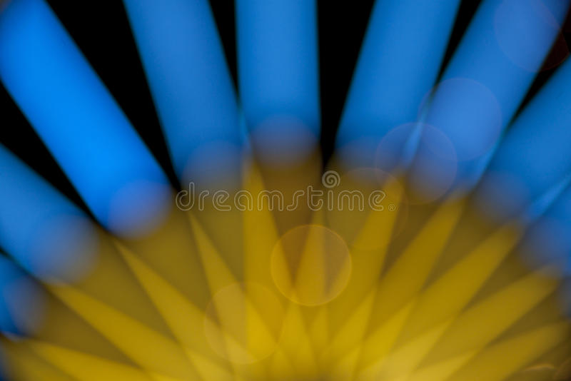 Download Blue And Yellow Light Bokeh Stock Photo - Image of flash, glowing: 38885500