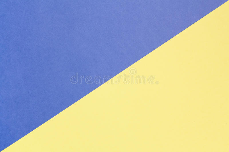 Blue and yellow pastel background with copy space. Texture of fashion, minimal concept, royalty free stock images