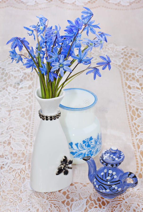 Download Bluebel stock image. Image of plant, flowers, teapot - 24260237