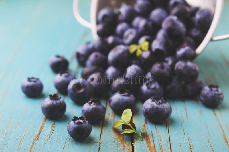 Blueberries& x28 delle bacche; bilberry& x29; fotografia stock