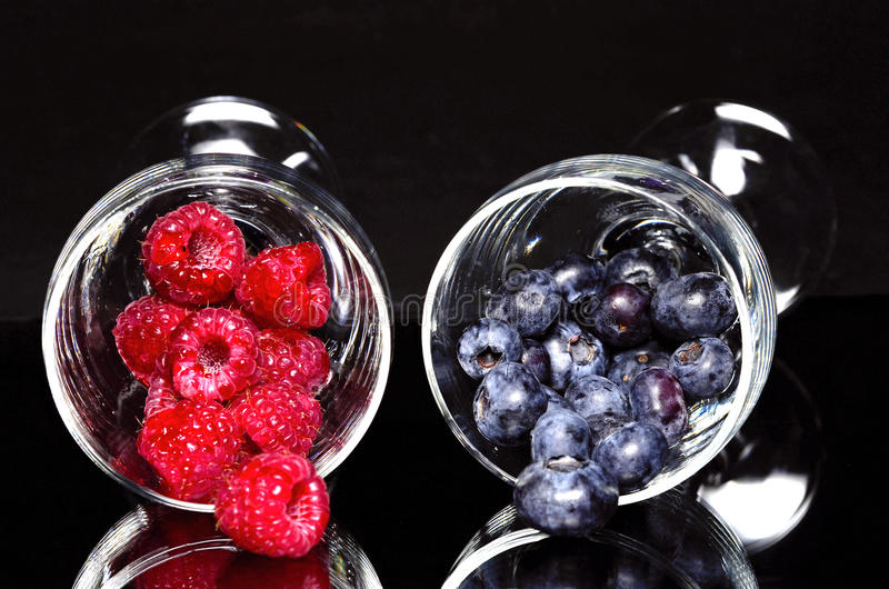 Download Blueberries And Raspberries Stock Photography - Image: 29461902