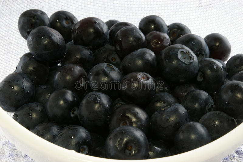 Download Blueberries Were Washed With A Colander Stock Photo - Image: 19656722
