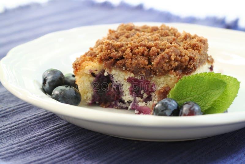Blueberry buckle stock photo