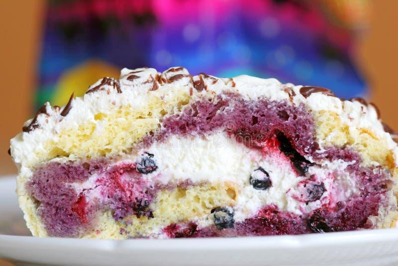 blueberry cake στοκ εικόνες