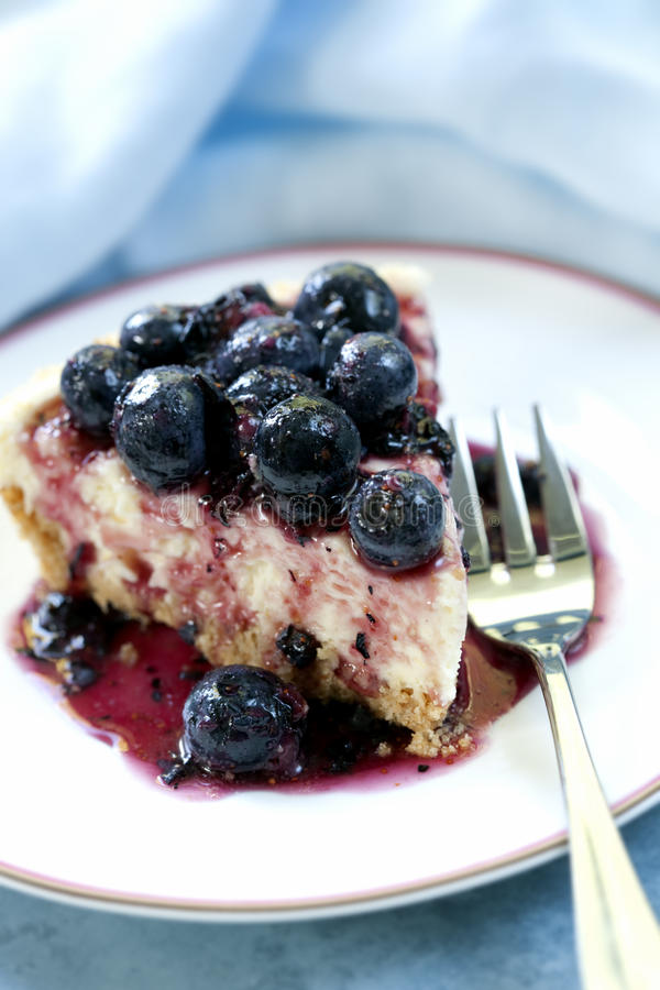 Download Blueberry Cheesecake stock photo. Image of cake, blueberry - 14828040